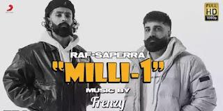 Milli-1 (Lyrics) - Raf Saperra x DesiFrenzy