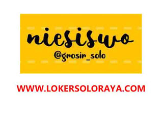 Loker Solo Raya Customer Service Olshop Niesiswo Lulusan SMA SMK