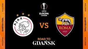 مشاهدة مباراة روما واياكس امستردام اليوم بث مباشر الدوري الأوروبي