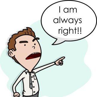 Ben Haklıyım. Sen Haklısın. Diğer Herkes Yanlış!!!!