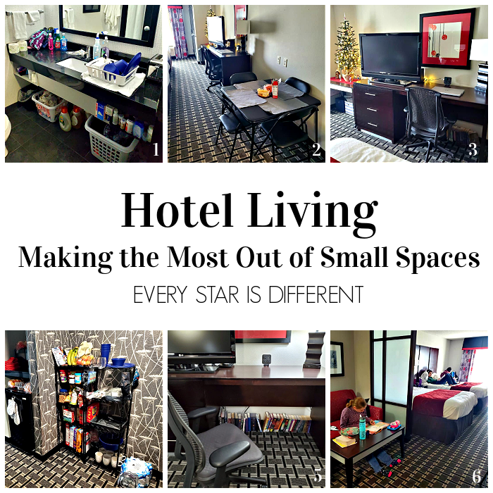 Hotel Living: Making the Most Out of Small Spaces