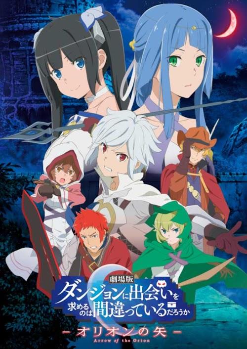 Descargar Dungeon ni Deai wo Motomeru no wa Machigatteiru Darou ka Movie: Orion no Ya [Pelicula][Sub Español][MEGA] HDL]