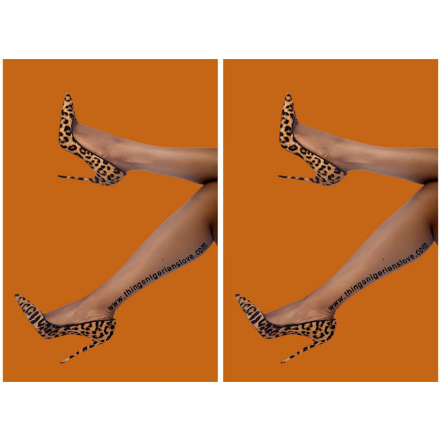 leopard print heels, made in nigeria, closet basic, calf pony pumps