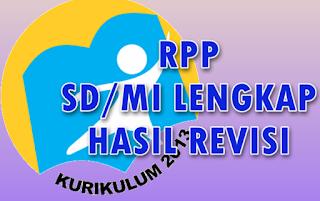 RPP SD/MI Kurikulum 2013 Revisi