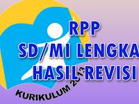 RPP Kurikulum 2013 SD Tahun Ajar 2017/2018 sesuai Revisi Terbaru