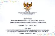 Formasi Kebutuhan Calon ASN Pemerintah Kabupaten Pangandaran 2021