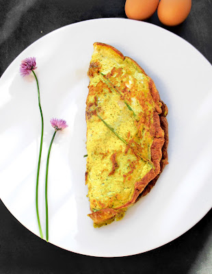Omelette Soufflée Pistou, Citron & Parmesan