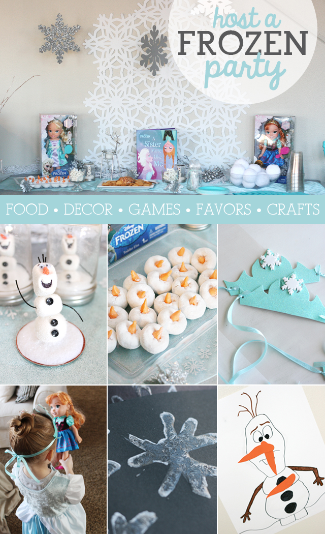 27d71ccff1a85 Disney FROZEN Party Ideas - My Sister s Suitcase - Packed with ...