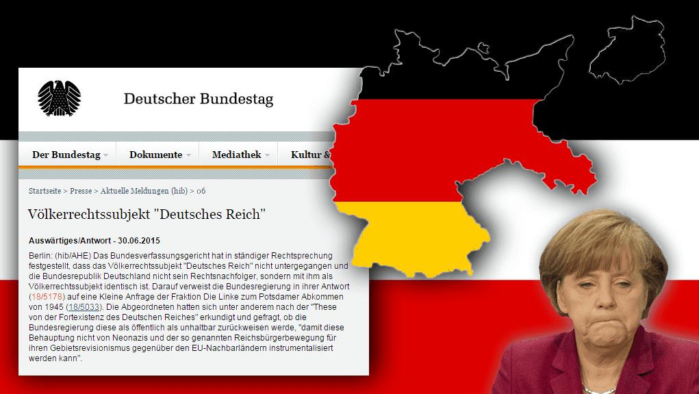 deutsche reich nicht untergegangen