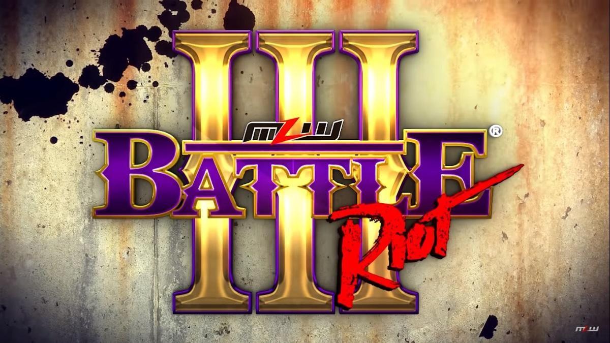 MLW Battle Riot III: Von Erichs na jogada!
