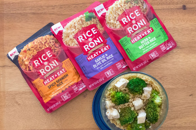 Microwave Chicken Rice-A-Roni Bowl Recipe