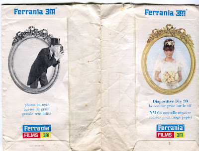 Pochette photo Ferrania 3M, G. Janiot Maringues