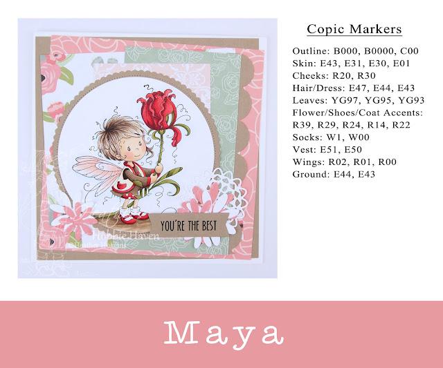 Heather's Hobbie Haven - Maya Card Kit