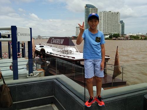 チャトリウム ホテル リバーサイド バンコク CHATRIUM HOTEL RIVERSIDE BANGKOK ホテル専用の無料シャトルボート