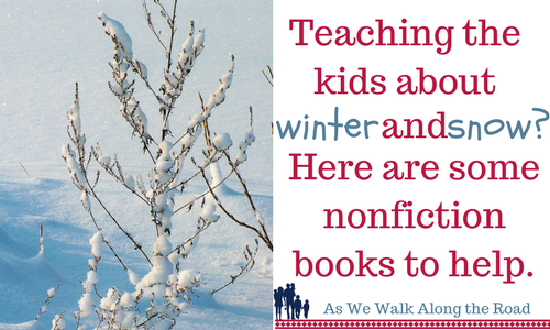 Nonfiction kids books about winter and snow
