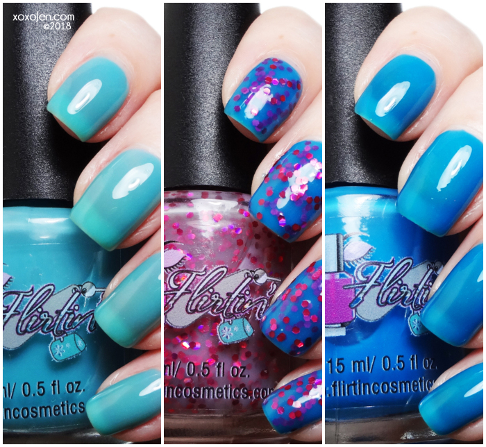 xoxoJen's swatch of Flirtin Summer Beach OR Block Party