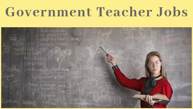 Government Teacher Job