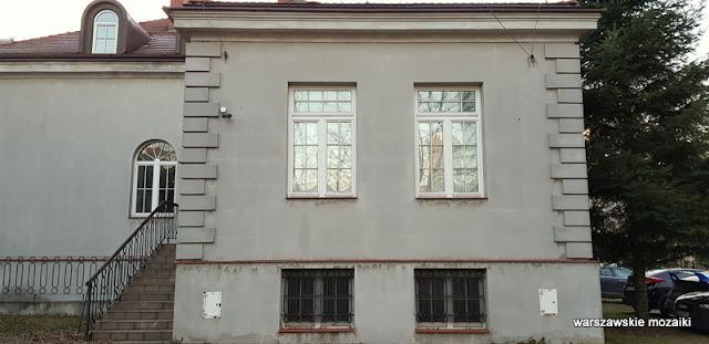 Warszawa Warsaw Wola Mikołaj Tadeusz Tołwiński pałacyk architektura