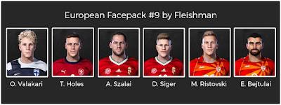 PES 2021 European Facepack #9 by Fleishman