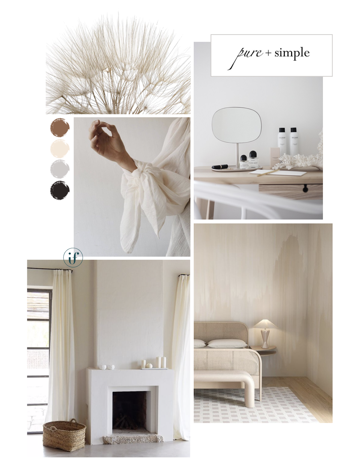 ilaria fatone - colour sand inspired mood board