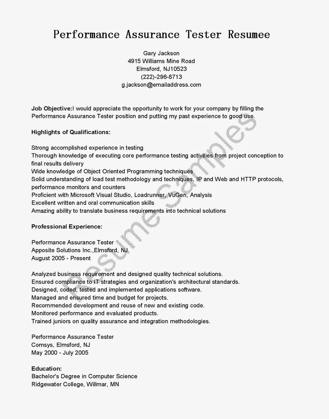 Sap Bi Resume Sample For Fresher - nmdnconference.com - Example ...