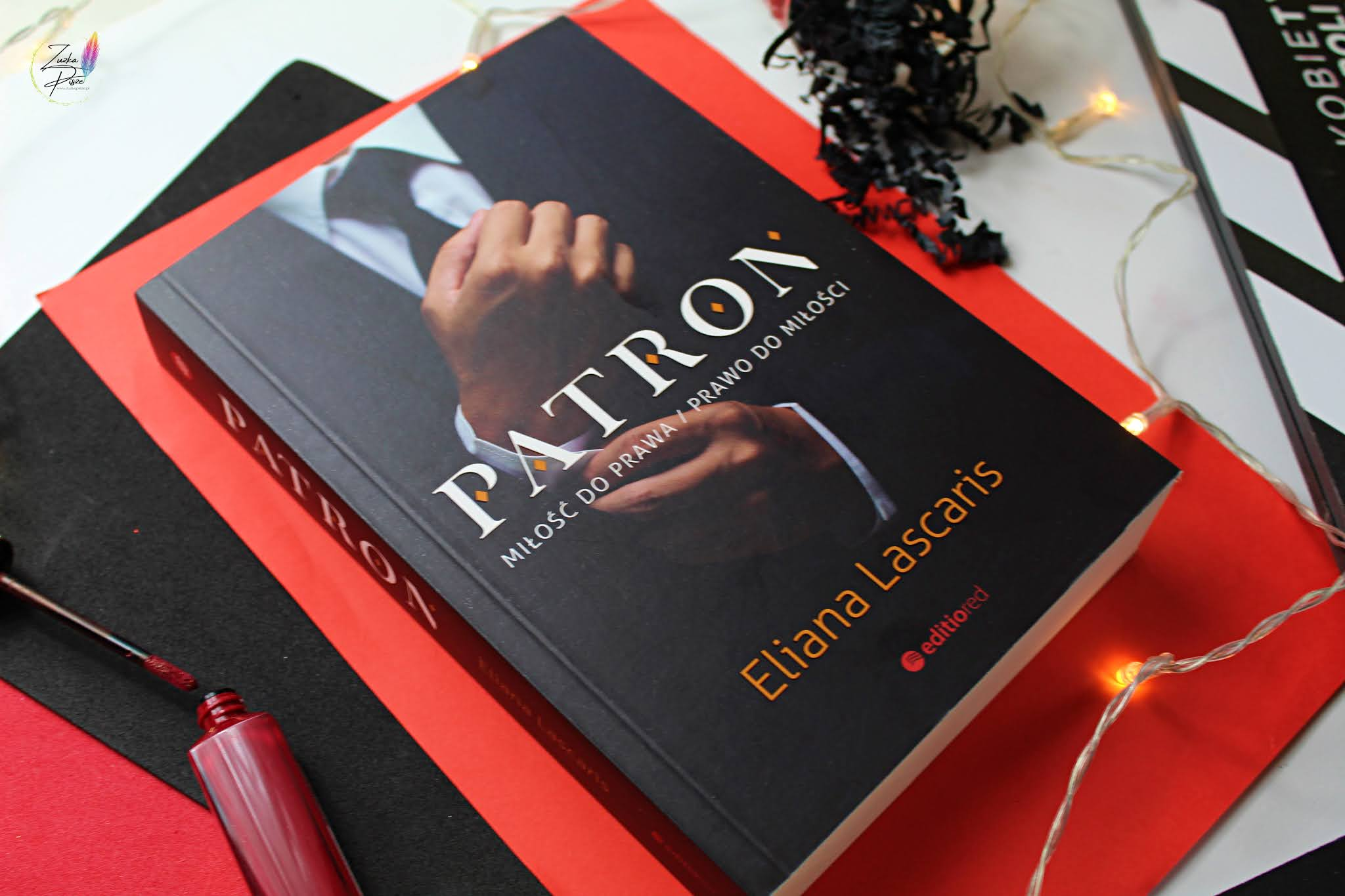 "Eliana Lascaris ""Patron"" - recenzja książki"