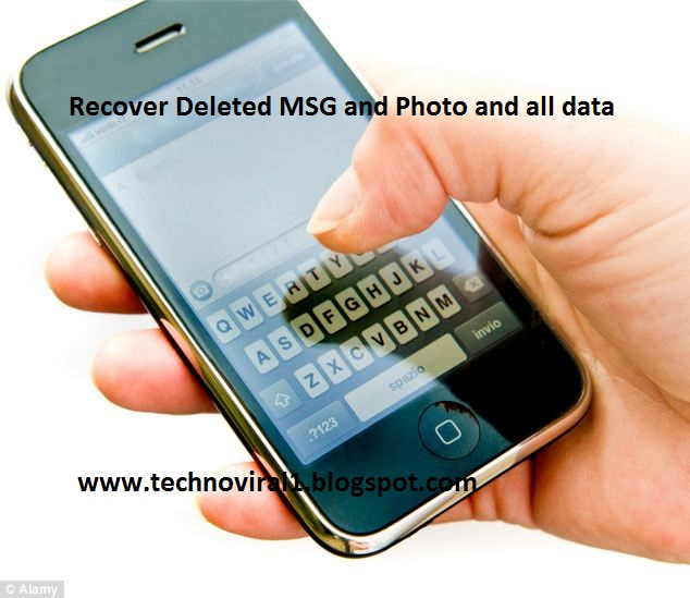 How to Recover Deleted MSG,Photo, any Data From your Android Mobile
