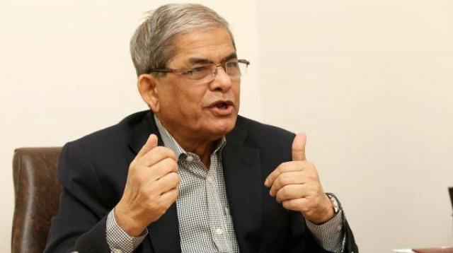 Mirza Fakhrul condemned the arrest of journalist Rozina