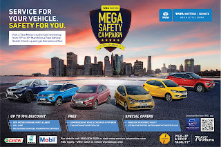 Tata motor starts mega safety campaign