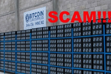 Beware of the following Cloud Mining Services! 100% Scam!
