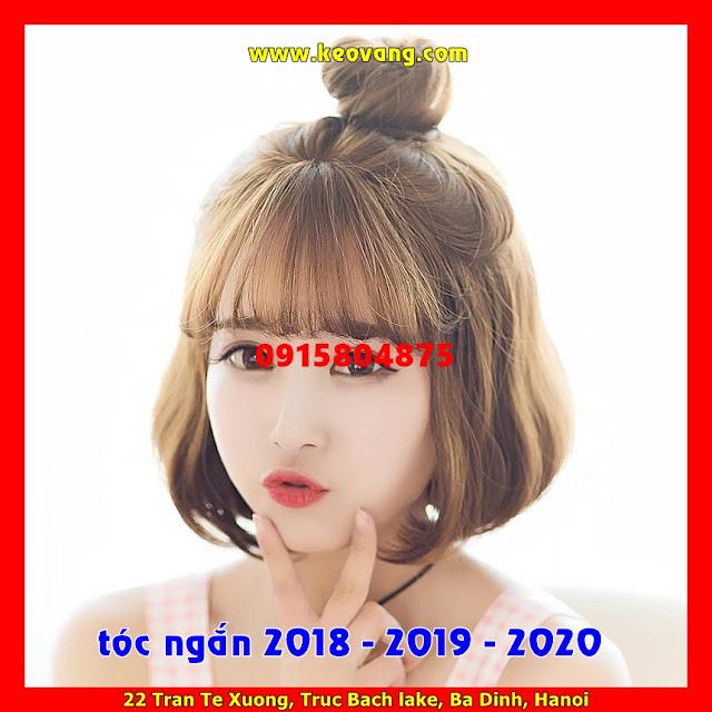 TÓC NGẮN NGANG VAI XINH ĐẸP VẠN NGƯỜI MÊ 2018-2019-2020