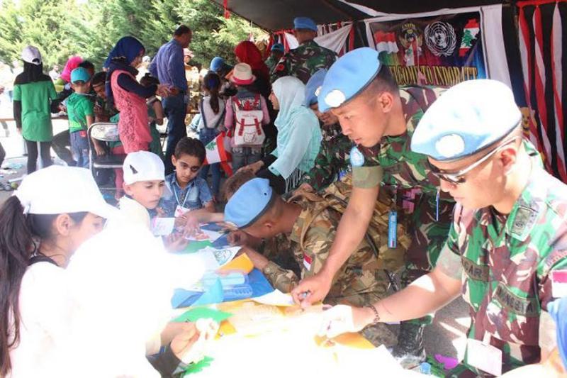 Satgas Batalyon Mekanis TNI