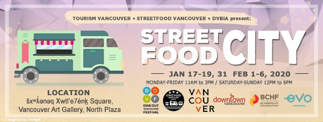 Dine Out Vancouver s  Street Food City  features 25 food trucks in downtown Vancouver BC