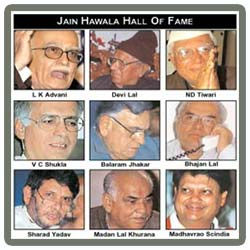 Hawala scam from 1990 to 1991