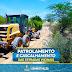 PREFEITURA REALIZA CASCALHAMENTO E PATROLAMENTO DE ESTRADAS RURAIS DE FILADÉLFIA
