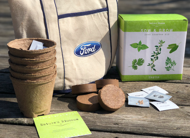 seed kit #FordFusionEarthDay