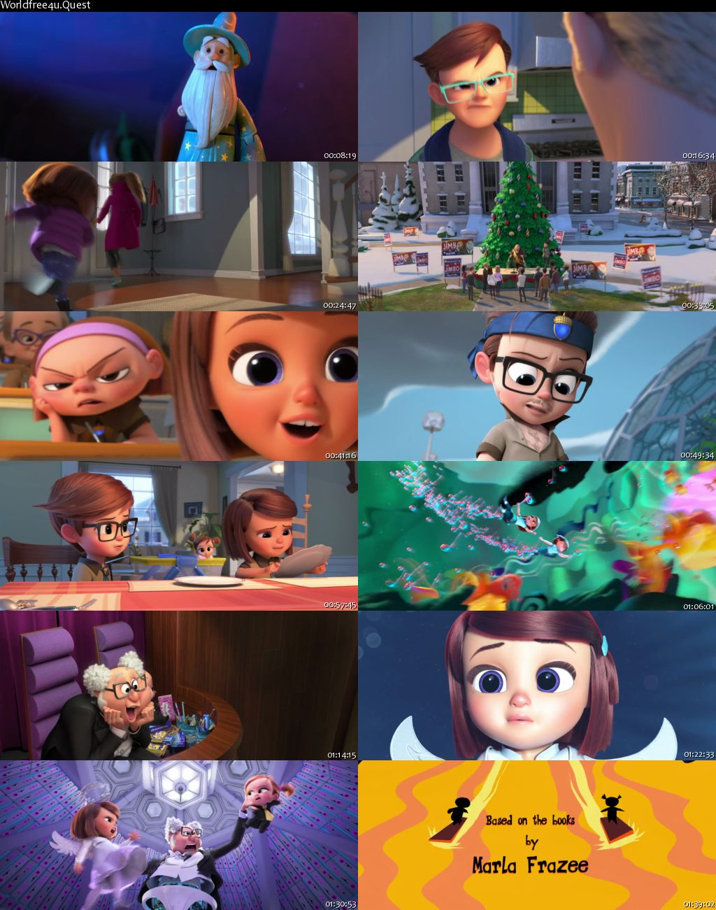 The Boss Baby 2: Family Business 2021 English Movie Download    HDRip 720p