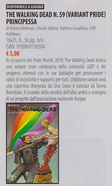 The Walking Dead #59 Variant Pride