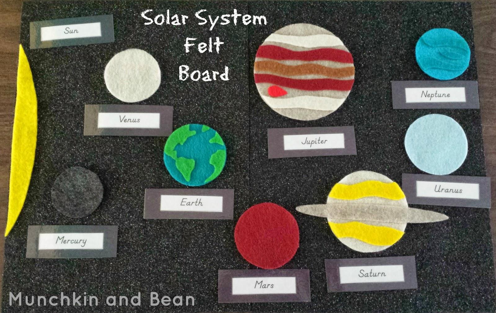 Munchkin and Bean: Solar System Unit Study
