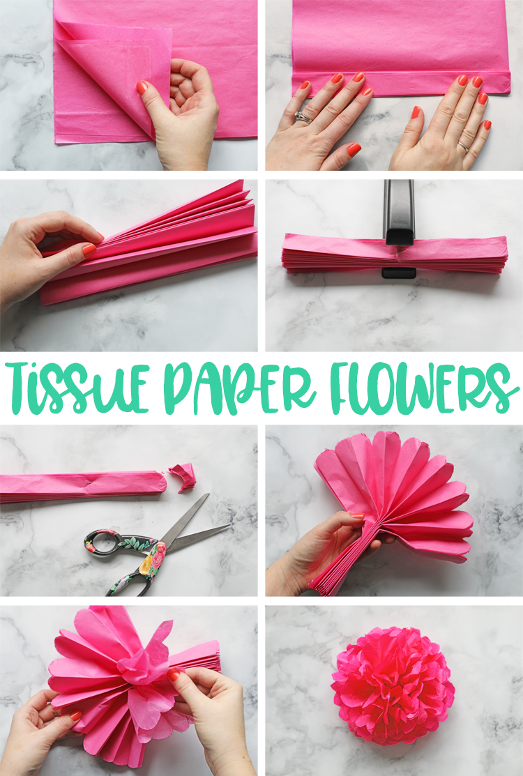 The Craft Patch: Tissue Paper Flowers: The Ultimate Guide