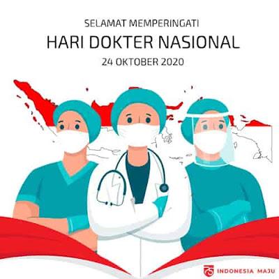 gambar ucapan selamat hari dokter nasional
