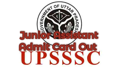 UPSSSC 10+2 Junior Assistant Admit Card Out, Download Admit Card