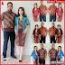 ZBT11309 Kebaya Batik Couple Tabina Pendek Trend BMGShop