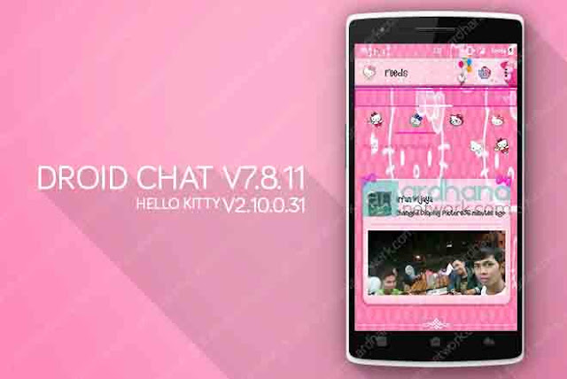 Droid Chat! V7.8.11 Hello Kitty Theme - BBM Android V2.10.0.31