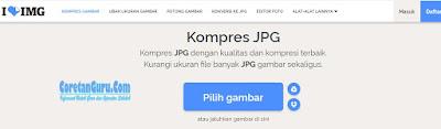 Cara Kompres Ukuran Foto/Jpg Jadi 200kb Online dan Offine