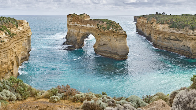 Bay Of Island Great Ocean Road Amazing Beauty Victoria Australia HD Desktop Wallpaper