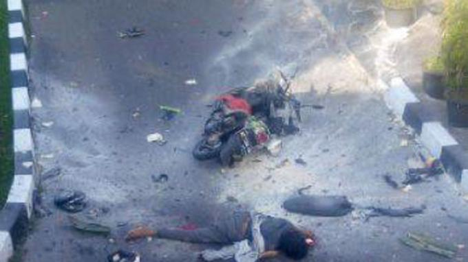 foto pelaku bom bunuh diri di Polresta Surakarta