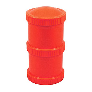 stack snack container orange replay