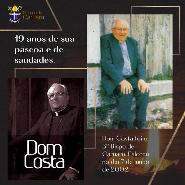 DIOCESE: 19 anos da morte de Dom Antônio Soares Costa, 3º bispo de Caruaru