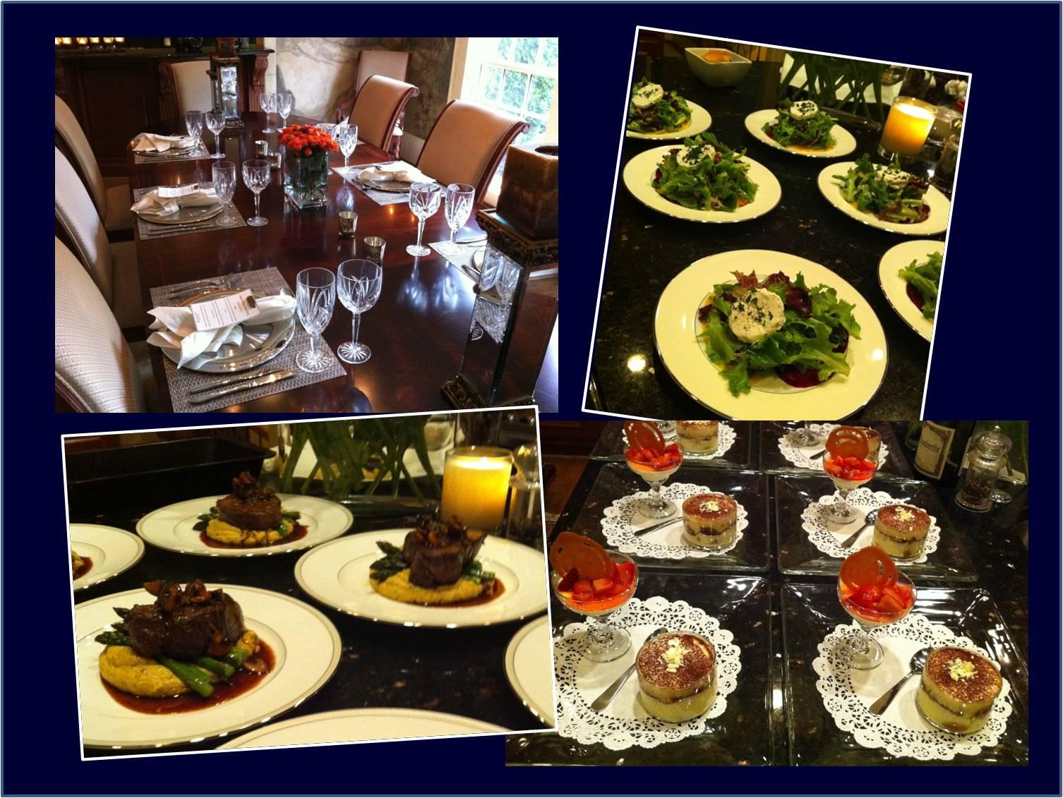 Atlanta Personal Chef Service: Atlanta's Best Dinner Party
